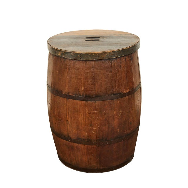 19th Century 19th C. American Barrel For Sale - Image 5 of 5