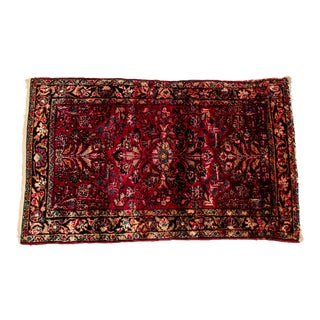 Persian Hand Knotted Pure Wool Area Rug - 3′3″ × 5′ For Sale