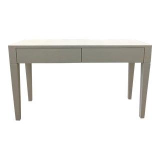 Mid-Century Modern Made Goods Sorin 2-Drawer Desk For Sale