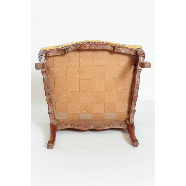 A Early 18th Century Walnut Regence Armchair For Sale - Image 12 of 13