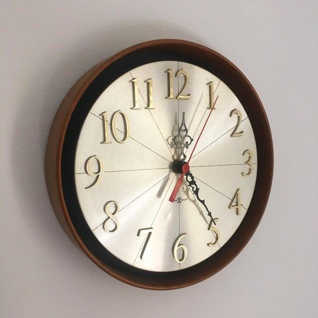 Vintage Howard Miller Model No. 589 Meridian Wall Clock   Chairish