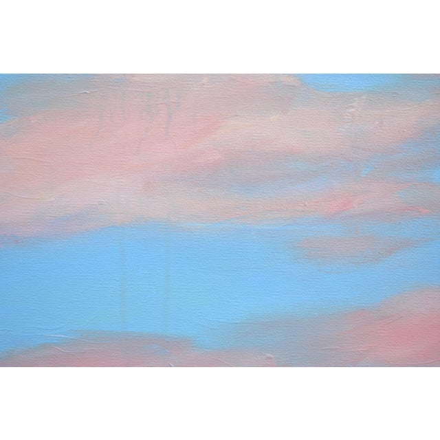 "Modern ""Cloud Study"" Contemporary Painting by Stephen Remick For Sale In Providence - Image 6 of 11"