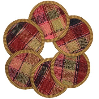 Kilim Coasters Set of 6 | Balyacı For Sale