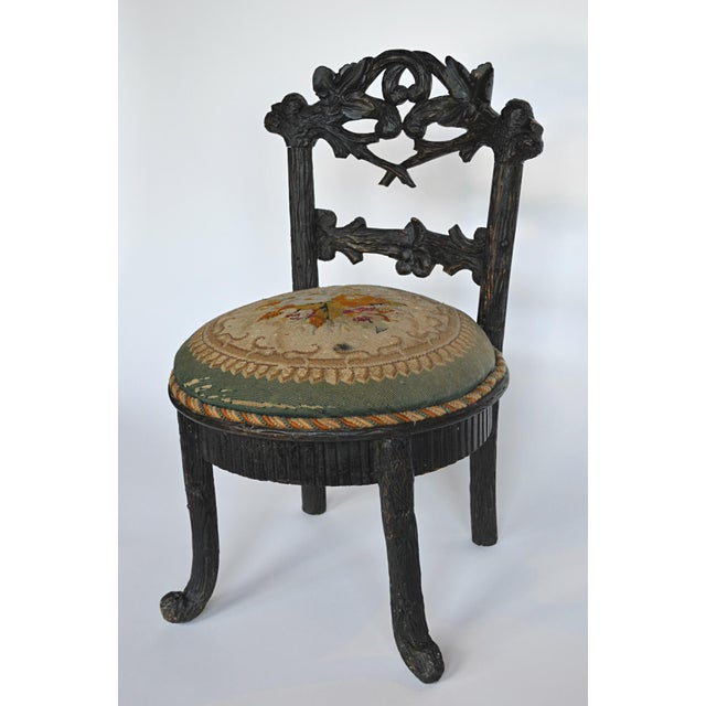 19th Century Black Forest Child's Chair - Image 3 of 10