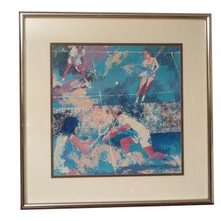"LeRoy Neiman Print: ""Tennis Match"" by LeRoy Neiman For Sale"