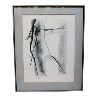 "1980s Vintage ""Arrived Wind B"" Print by Toko Shinoda For Sale"
