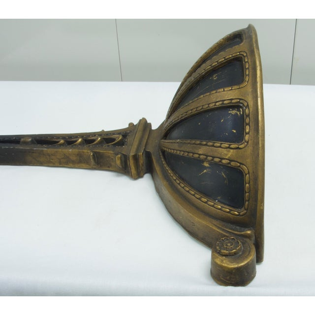 Traditional Early 20th Century Antique Empire Style Wall Planter For Sale - Image 3 of 7