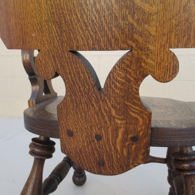 French Antique Pub Armchair For Sale - Image 5 of 8