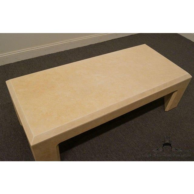 """Lane Furniture Contemporary Style 54"""" Coffee Table For Sale - Image 9 of 13"""