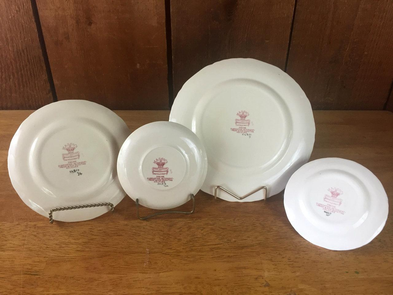 1940s Masonu0027s Ironstone Paynsley Pattern Dinnerware- 51 Pieces - Image 4 of 11  sc 1 st  Chairish & 1940s Masonu0027s Ironstone Paynsley Pattern Dinnerware- 51 Pieces ...