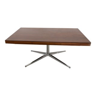 Florence Knoll Rosewood Writing Desk For Sale