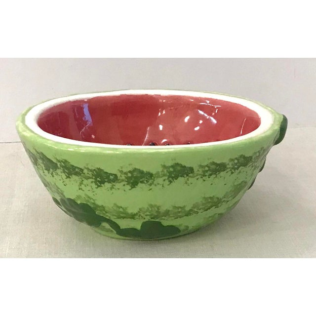 Cute little watermelon shaped bowl. Great for serving snacks!
