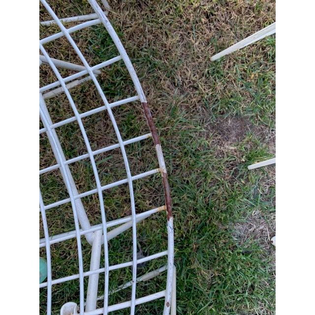 Metal 1970s Bertoia Side Chairs- Set of 12 For Sale - Image 7 of 9