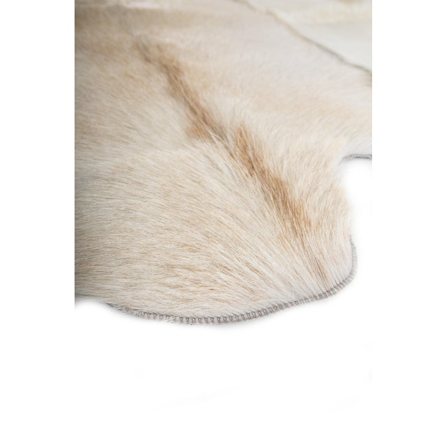 "Aydin Goatskin Patchwork Accent Area Rug - 4'7"" x 7'3"" - Image 7 of 8"