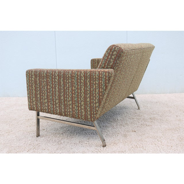 Mid-Century Modern Jack Cartwright Kelly Settee For Sale - Image 9 of 13