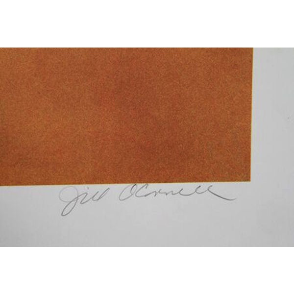 "Jill O'Connell, ""Nautica,"" Lithograph - Image 2 of 2"