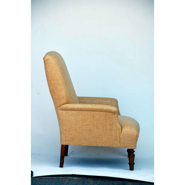 Mid 19th Century Low Napoleon III Bergere For Sale - Image 4 of 8