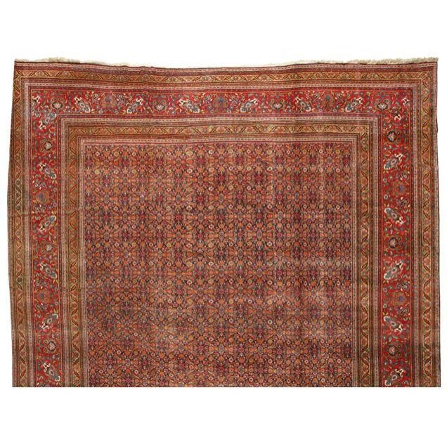 Extremely Fine Antique Oversize 19th Century Meshed Carpet - Image 1 of 1