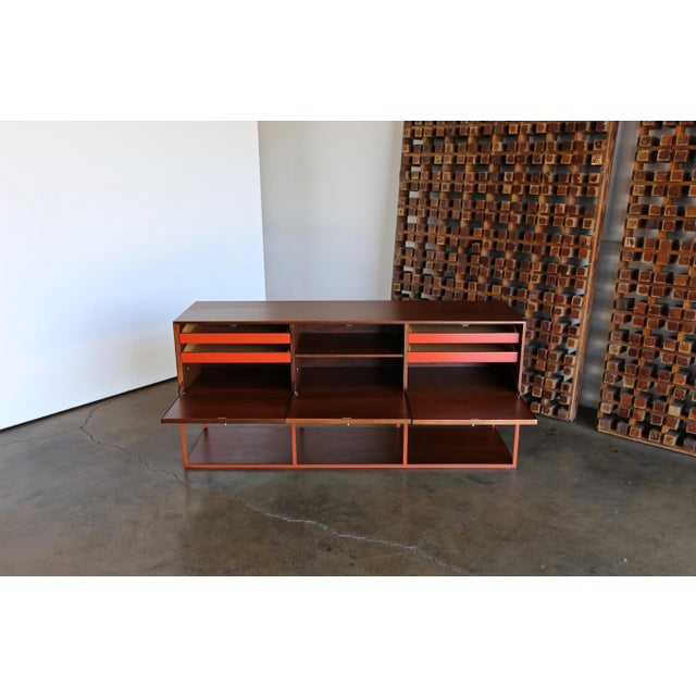 Danish Modern Milo Baughman for Murray Furniture Cabinet C. 1954 For Sale - Image 3 of 13
