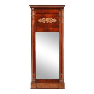 19th-C. Danish Empire Mirror For Sale
