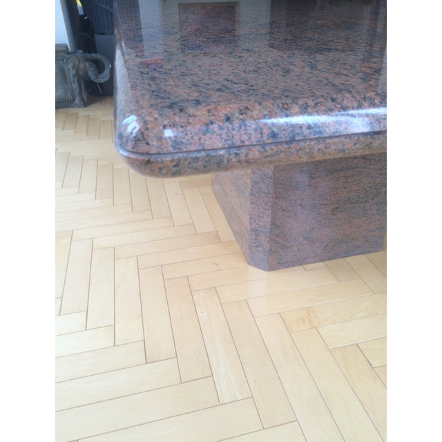 Modern Marble Dining Table - Image 5 of 5