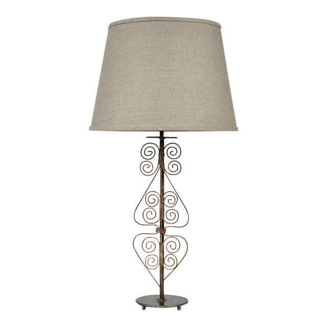 19th Century Victorian Iron Lamps For Sale