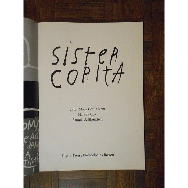 "Sister Mary Corita Kent Vintage Abstract Lithograph-Sister Mary Corita Kent-""Only Speak of Hope"" For Sale - Image 4 of 8"