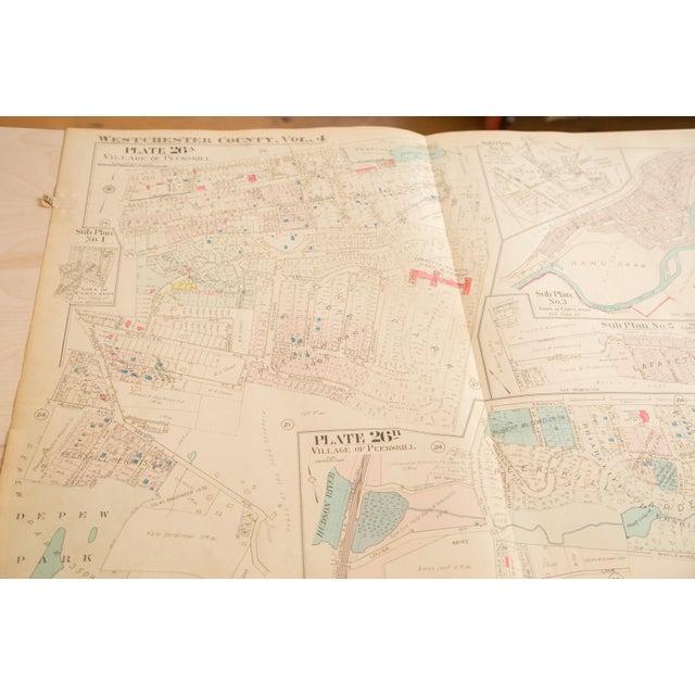 Vintage Hopkins Map of Village of Peekskill For Sale - Image 4 of 6
