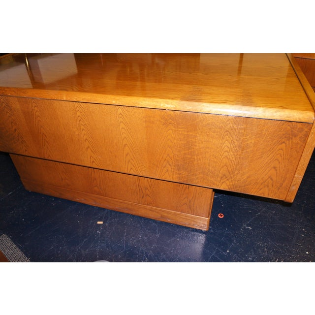 Mid-Century Modern Executive Desk and Credenza - Image 5 of 7