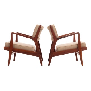 Jens Risom Lounge Chairs For Sale