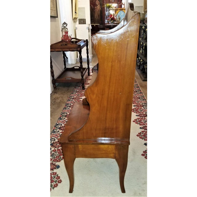 Wood 18th Century French Country Cherrywood Side Table or Open Case For Sale - Image 7 of 11
