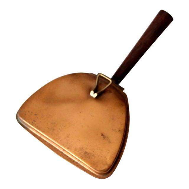 Mid-Century Italian Copper Silent Butler For Sale
