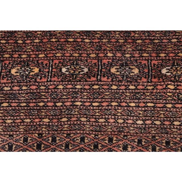 Bokara Arya Leon Rose & Black Wool Rug - 9'4 X 11'11 For Sale In New York - Image 6 of 9