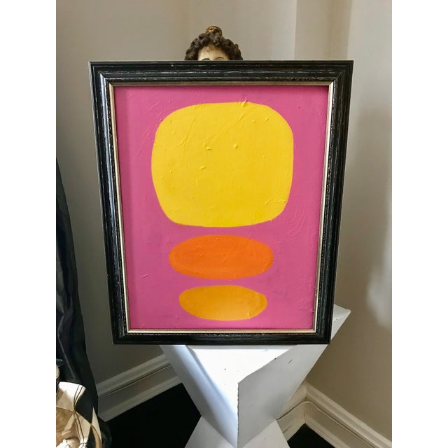 "From my Palm Springs collection influence by late 60s California mid century style, culture and colors. ""Yellow Dots"" with..."