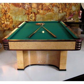Donald Deskey Designed Brunswick Paramount Pool Table Preview