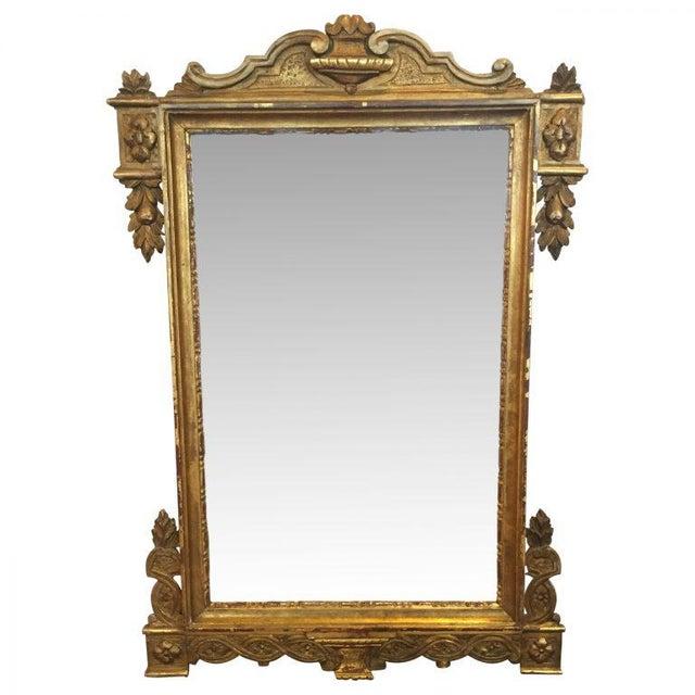 Vintage Italian Gilded Mirror - Image 2 of 5