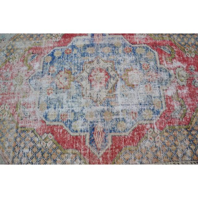 "Handmade Anatolian Tribal Rug -- 3'9"" x 5'3"" - Image 5 of 6"