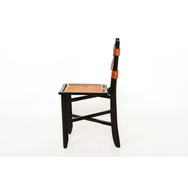 Pair of Modernist Folding Chairs For Sale - Image 4 of 9