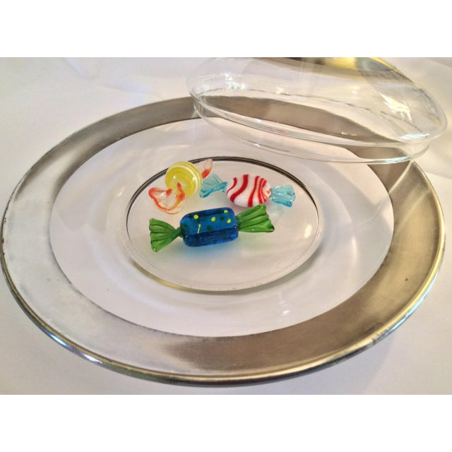 1950s Dorothy Thorpe Mid Century Candy Dish For Sale - Image 5 of 13