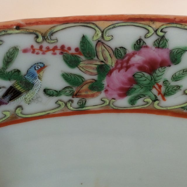 Asian Chinese Export Famille Rose Bowl For Sale - Image 3 of 7