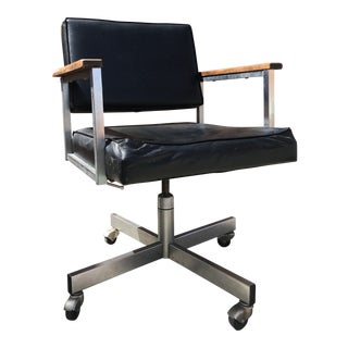 1960s Industrial Style Desk Chair For Sale