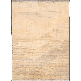 Vintage Mid-Century Persian Gabbeh Rug - 4′1″ × 5′9″ For Sale