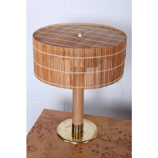 Mid-Century Modern Rare Table Lamp by Paavo Tynell for Taito For Sale - Image 3 of 10