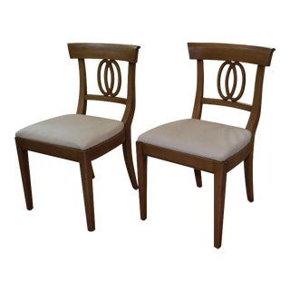 Mid-Century Modern Vintage Dining Chairs by Drexel Heritage - a Pair For Sale