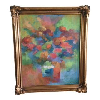 1959 Abstract Floral Still Life by Lolo For Sale
