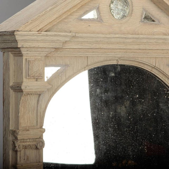 19th Century Italian White Painted Arched Mirrors - a Pair For Sale In Detroit - Image 6 of 9
