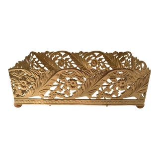 Hollywood Regency Tissue Box Holder For Sale