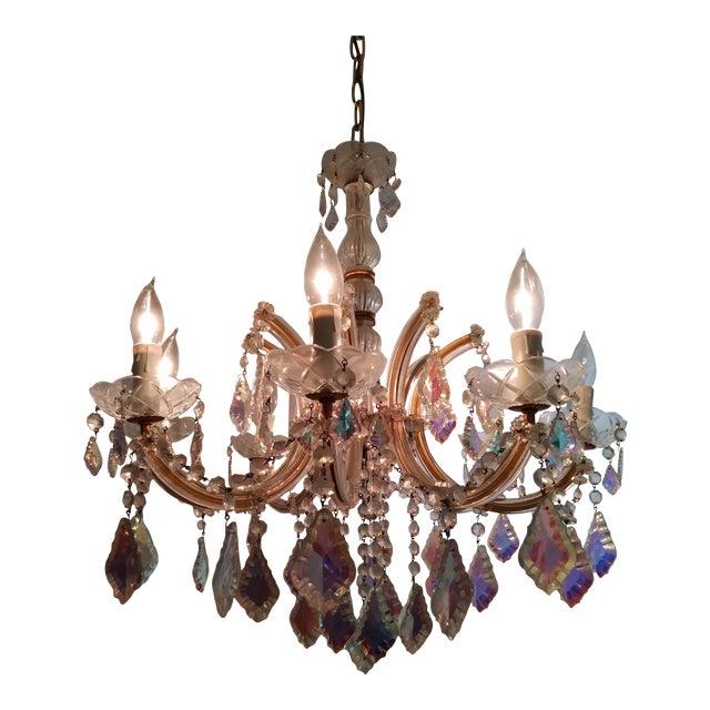 Murano crystal chandelier chairish murano crystal chandelier for sale aloadofball Gallery