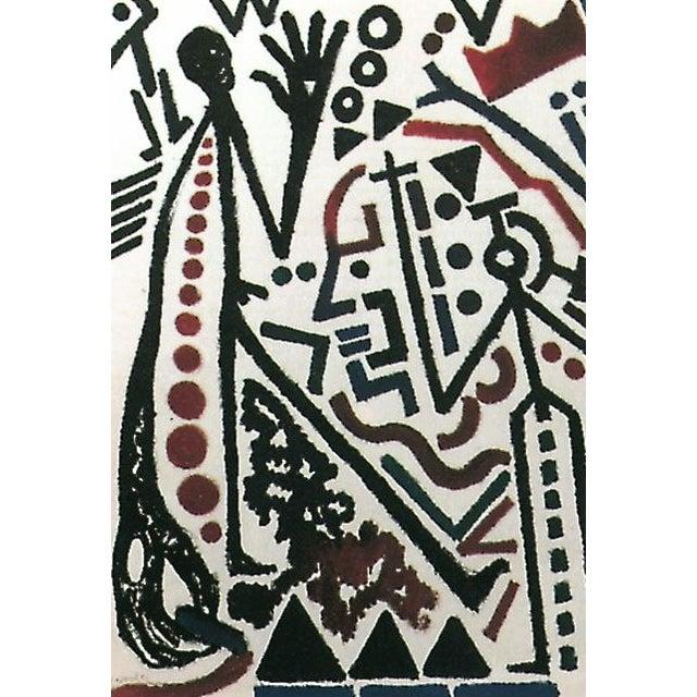 A. R. Penck Die Zukunft Des Emigranten Lithograph For Sale - Image 4 of 5