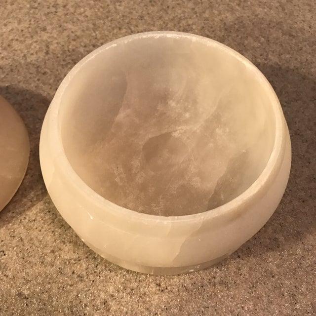 Vintage Alabaster Powder Jar - Image 5 of 11